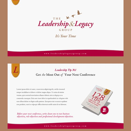 Template for Leadership Tips