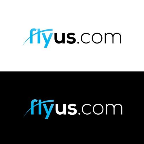 simple logo for airfare company
