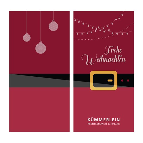 Christmas Greeting Card for Kümmerlein