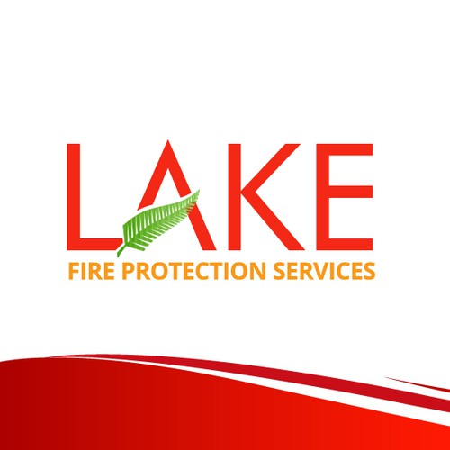 lake logo for fire protection services