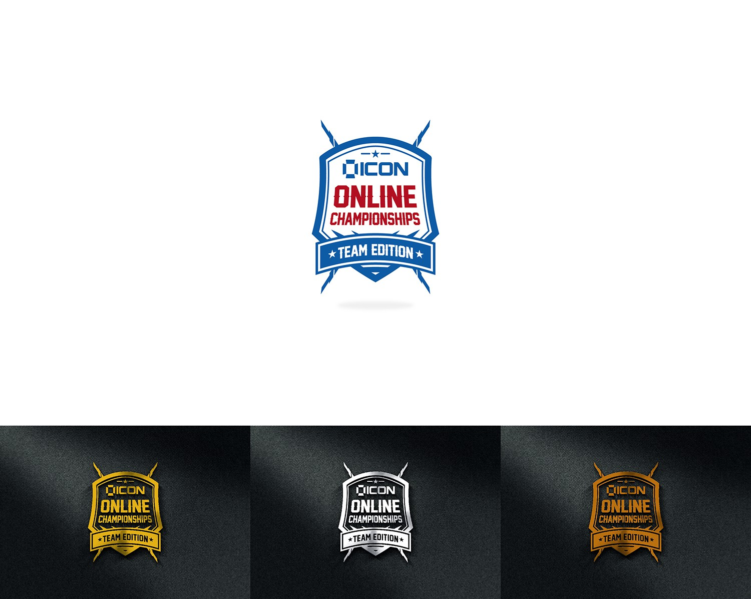 Create an eye catching logo for online CrossFit competition.