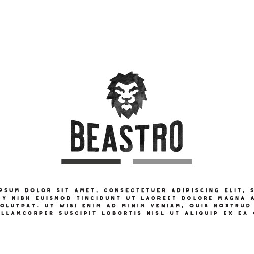Logo for a bistro