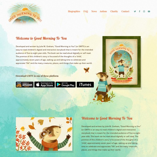 Website for Children e-Book