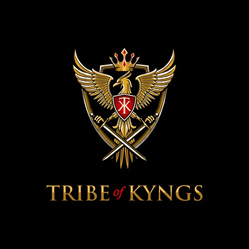 REGAL AND ELEGANT LOOKING logo for TRIBE of KYNGS