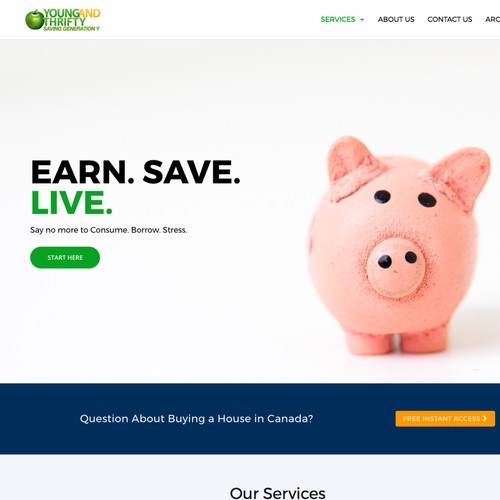 Business and Finance Web Design