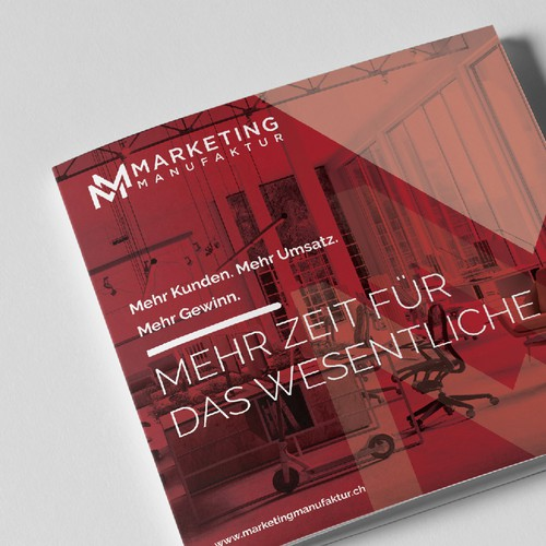 Marketing Manufaktur Brochure