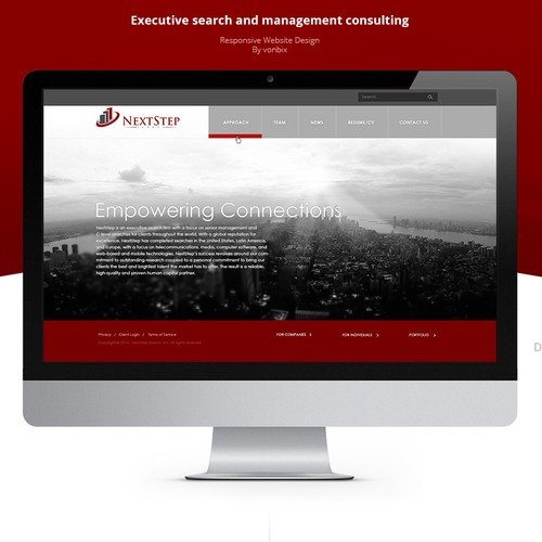 Consulting Company Website