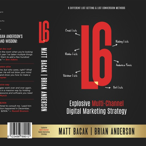 Amazing Book Cover Design for Matt Bacak