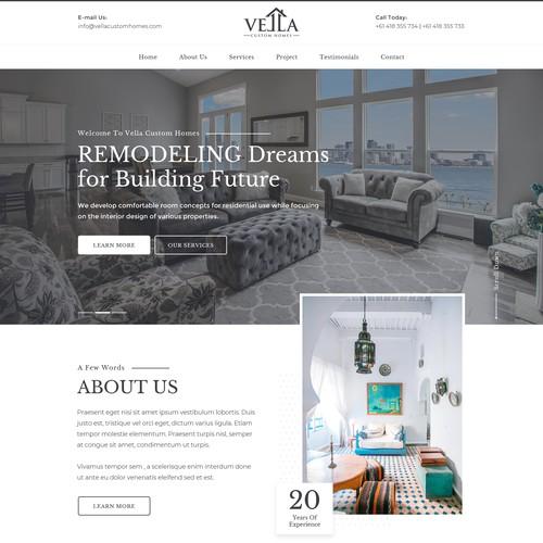 Entry Level Website Design