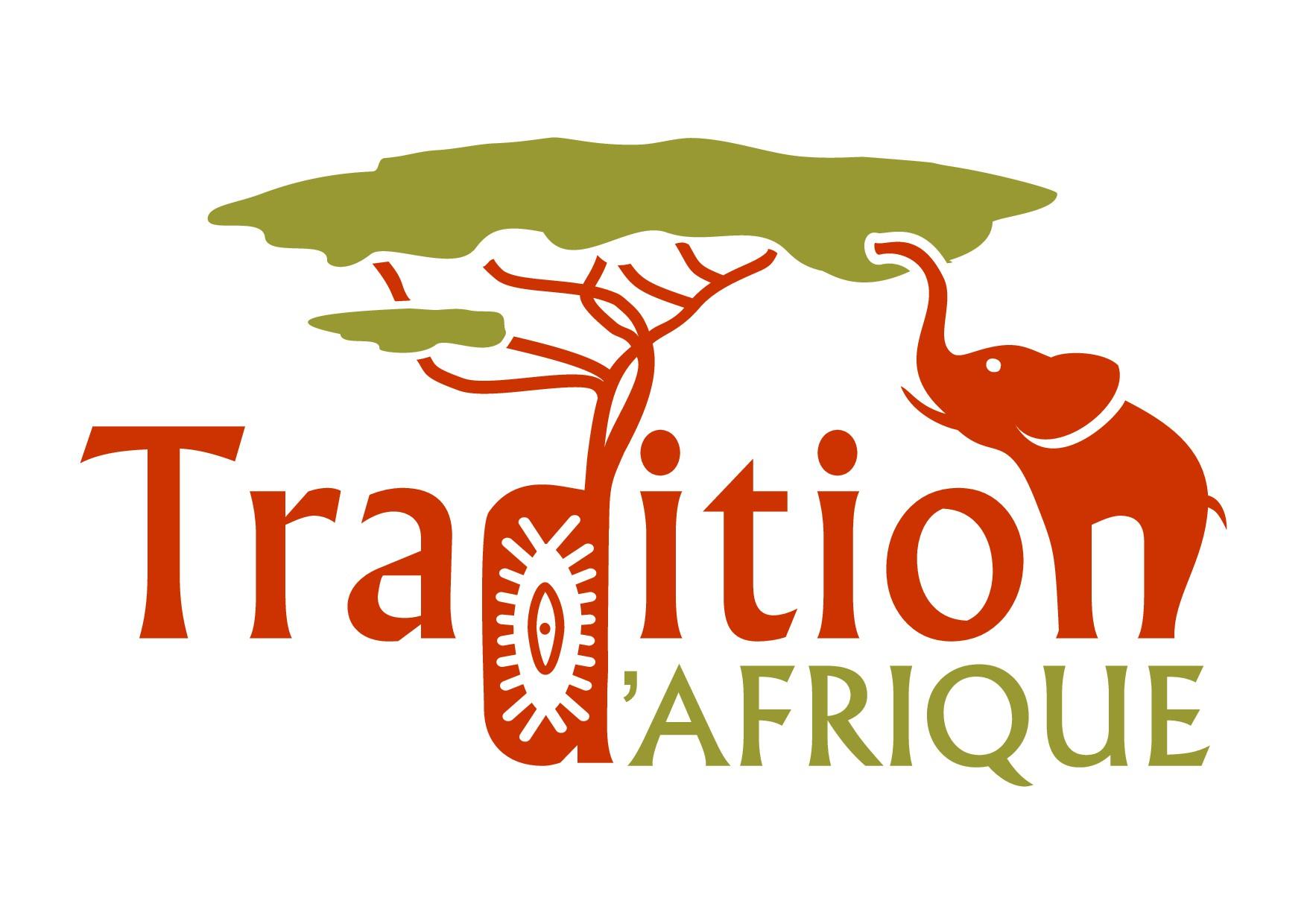 Un logo branché avec une véritable entité Africaine
