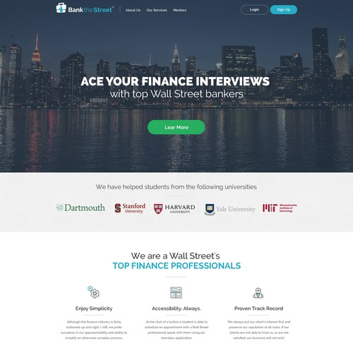 Design for interview preparation service