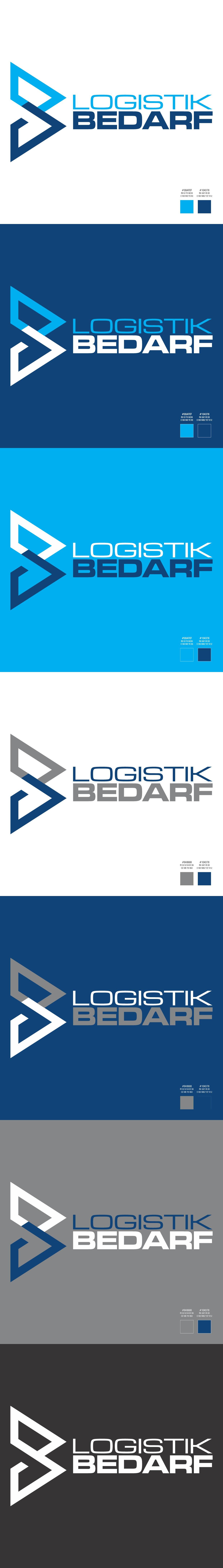 Erstelle ein aussagekräftiges Logo für Logistikbedarf.de