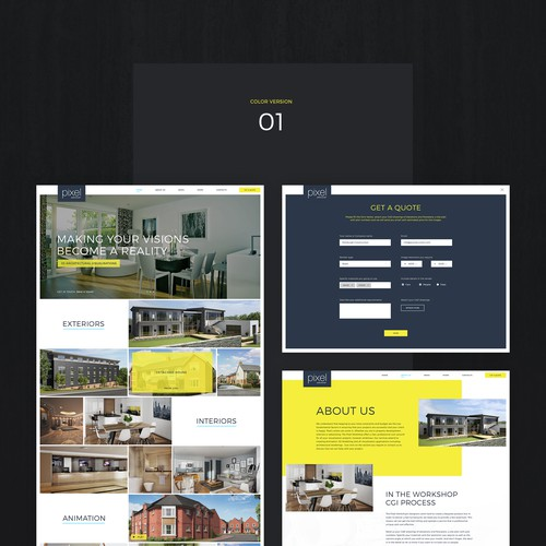Web design architecture company