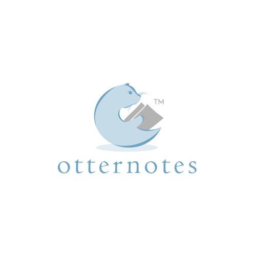 Create a logo for OtterNotes.com