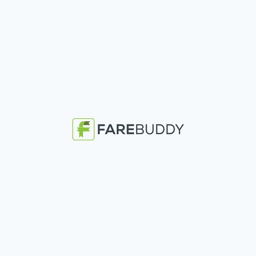 Logo with the letter F + Ticket concept. brilliant idea for a Logo for FareBuddy - a technology service for lowest airfares