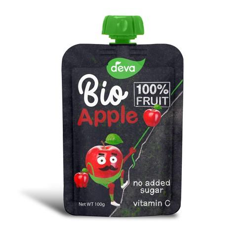 Pouch Design Bio Fruit Puree