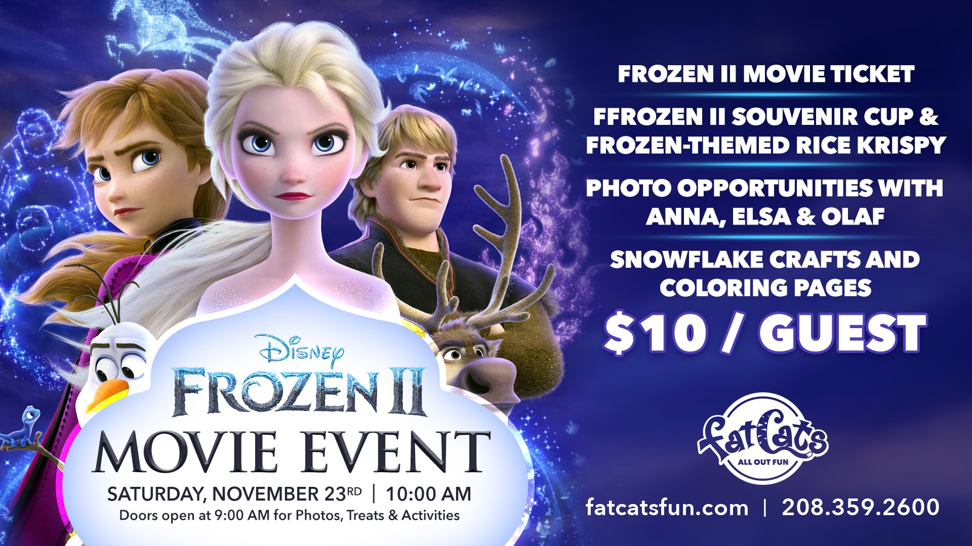 Frozen II Movie Event