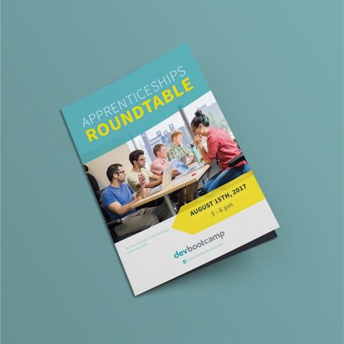 Simple Education Brochure Design