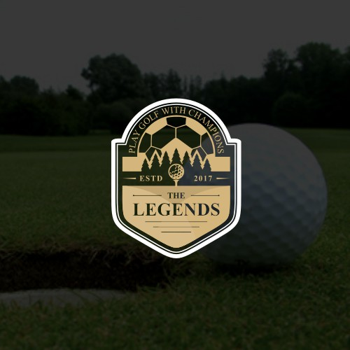 The Legends play Golf with Champions