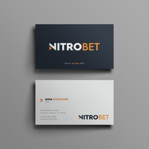 Business Card for Nitrobet.