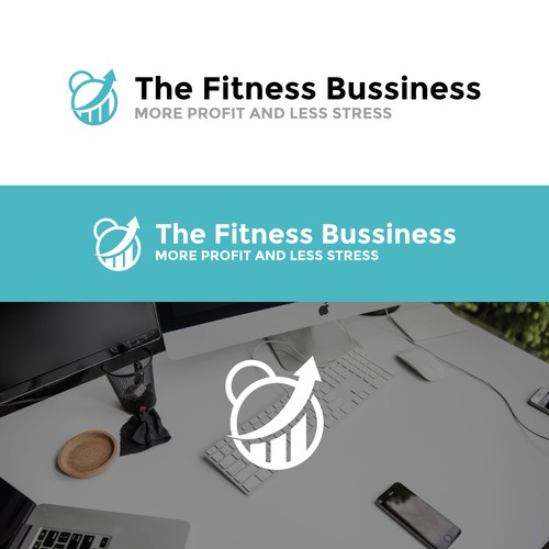 The Fitness Bussiness Logo