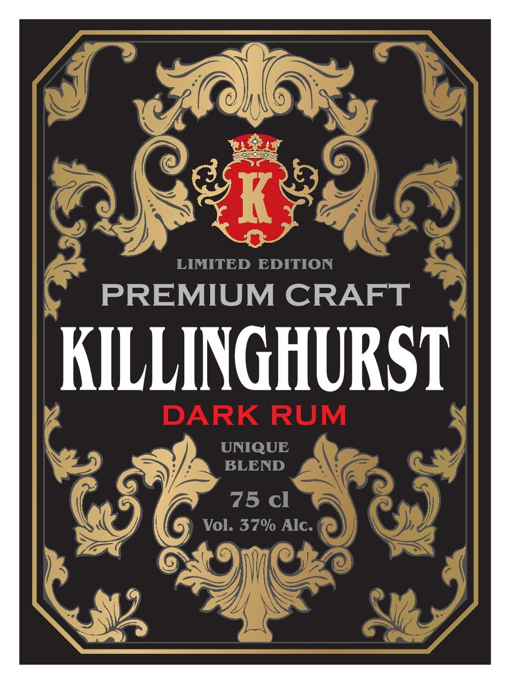 Killinghurst Rum - New Craft Rum Brand Design Competition