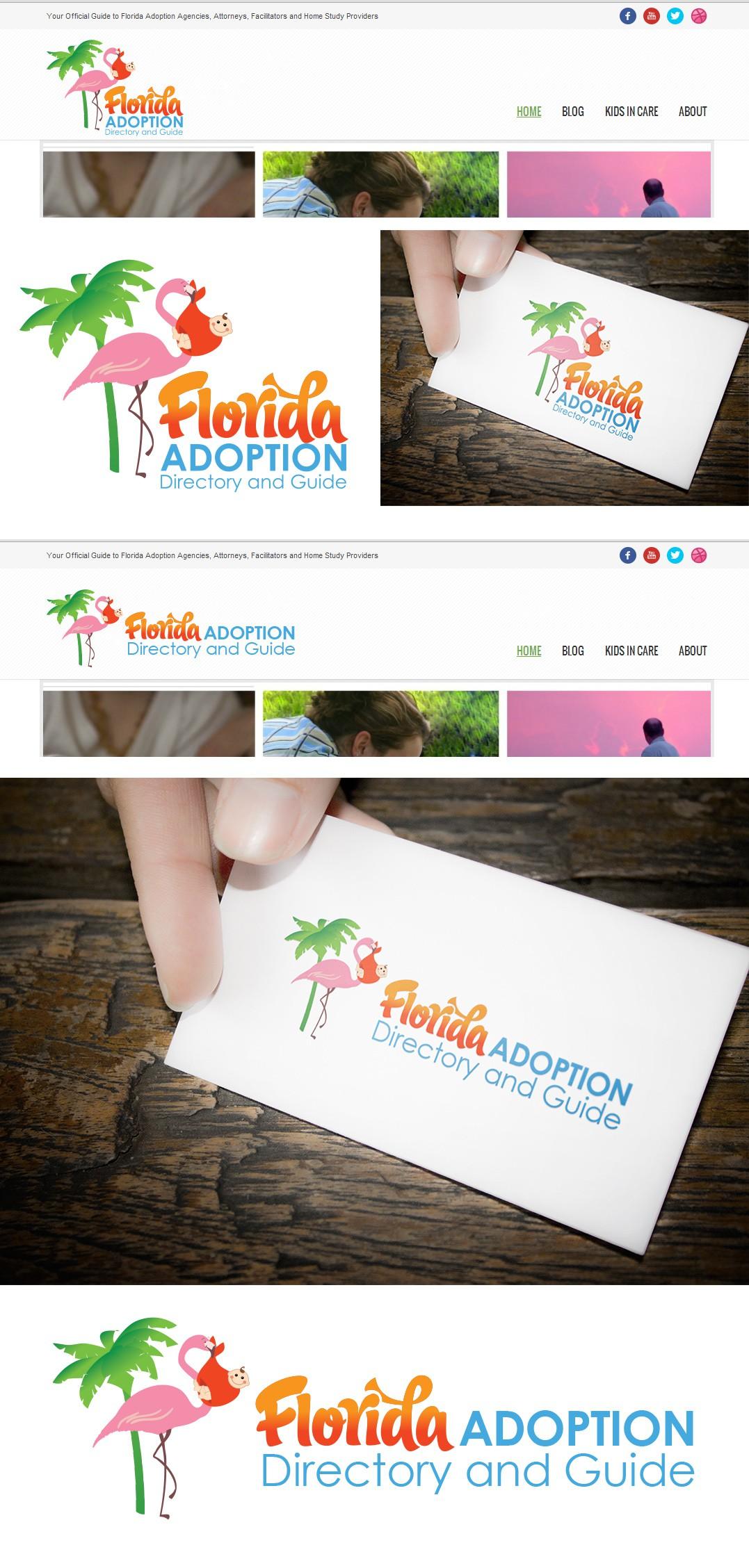 Create fun logo for Florida Adoption Directory