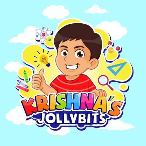 Krishna's youtube channel logo contest