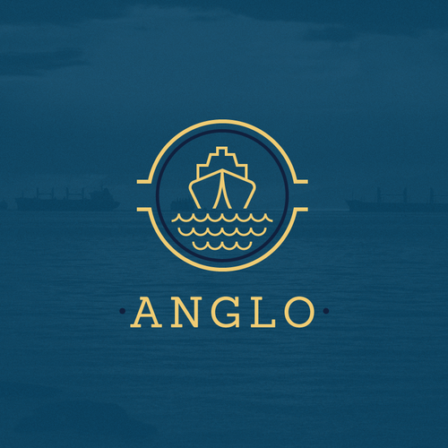 Luxurious logo for a cargo company