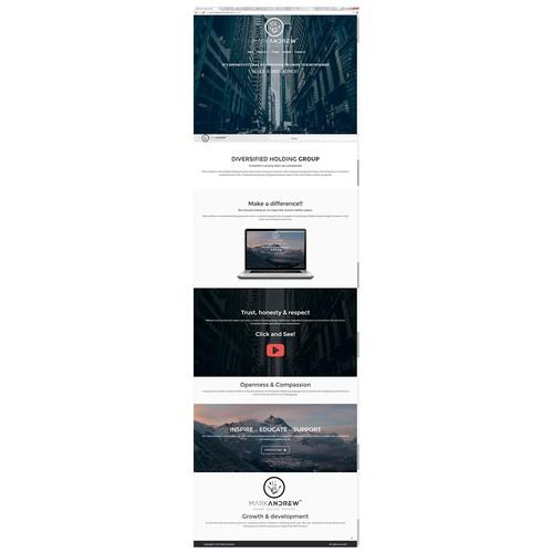 Mark Andrew - Website