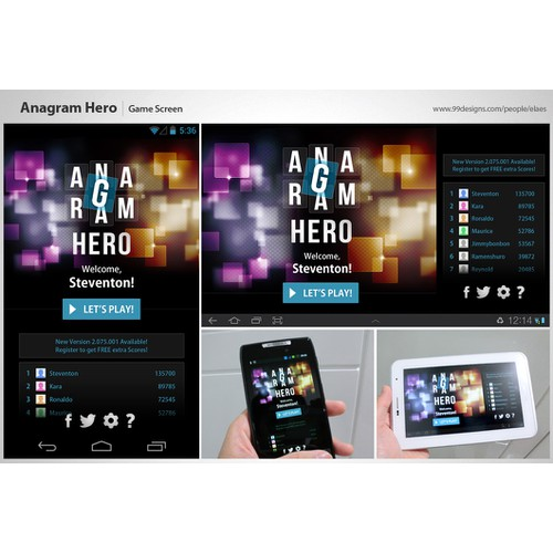 Android Mobile GUI Design