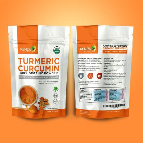 Turmeric Curcumin Pouch