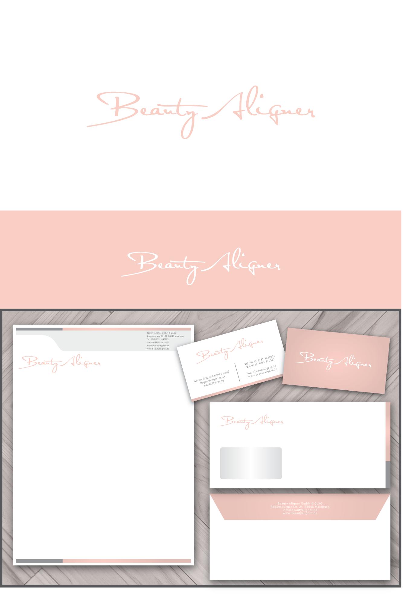 Beauty Aligner benötigt ein logo and business card