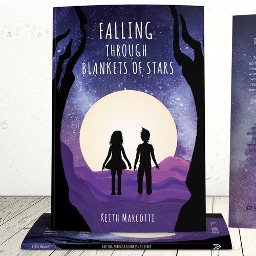 Book cover: Falling through blankets of stars