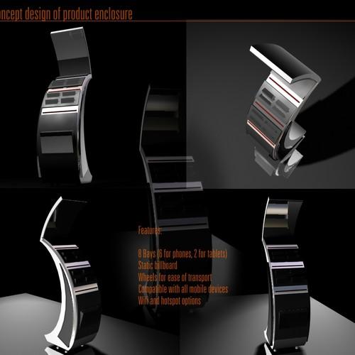 Concept design of product enclosure