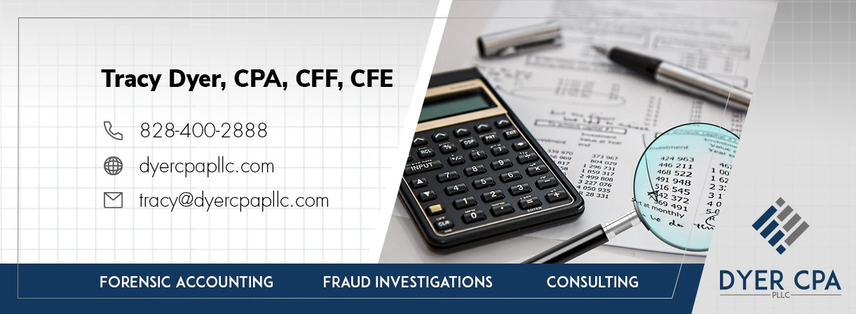 Forensic Accountant background