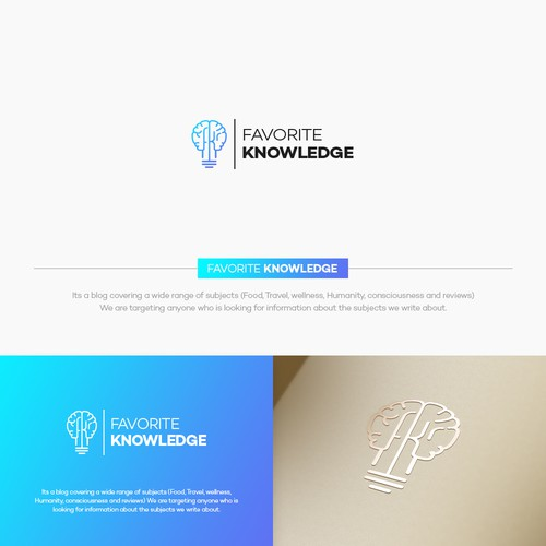 Favorite Knowledge Logo Design