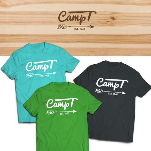 T-shirt Design for Summer Camp