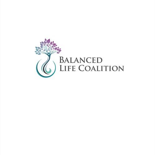 logo for a balanced life