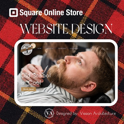 SQUARE ONLINE STORE | Design for Old School Barbershop