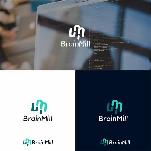 BrainMill brand identity contest