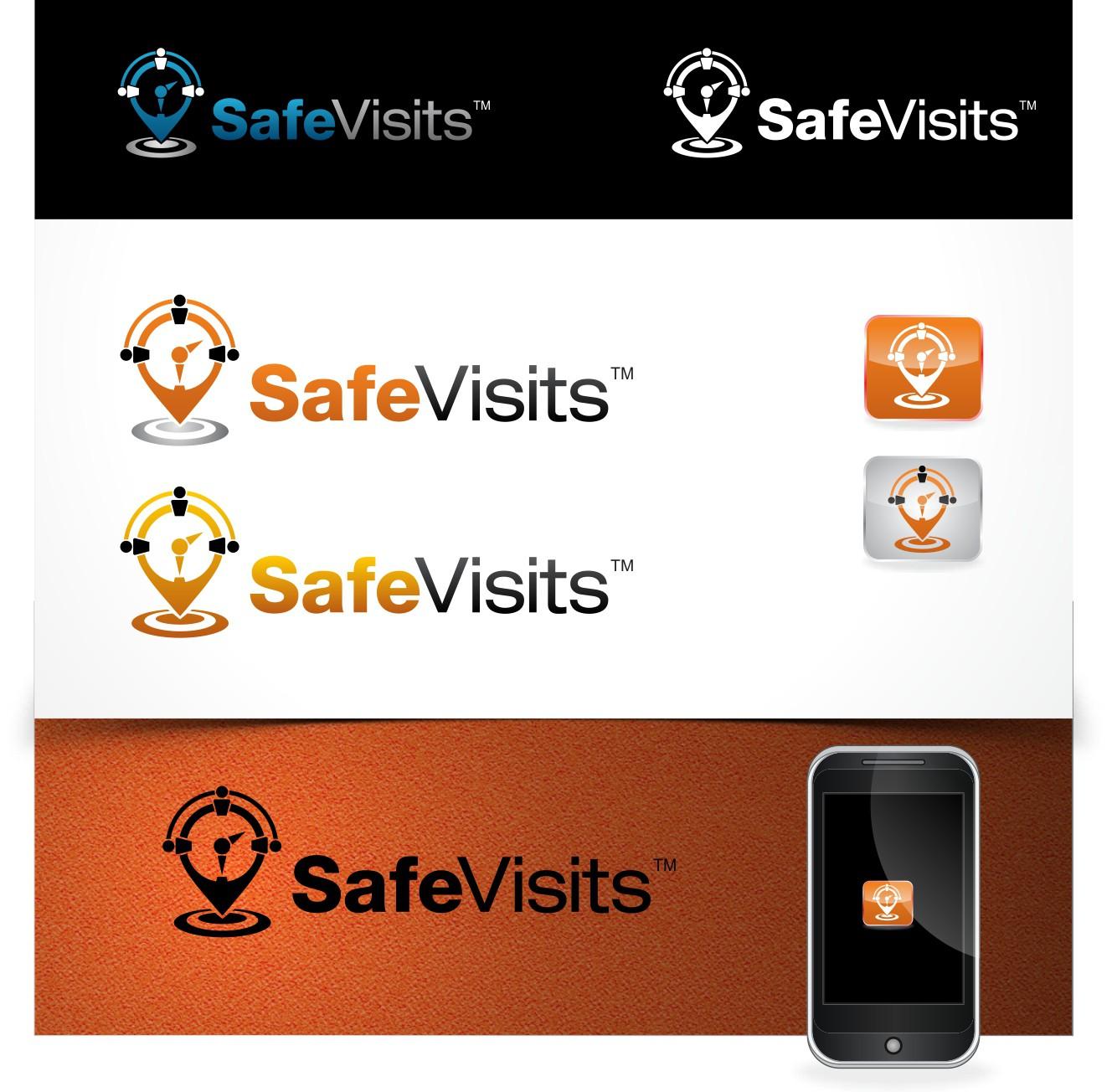 SafeVisits needs a new logo