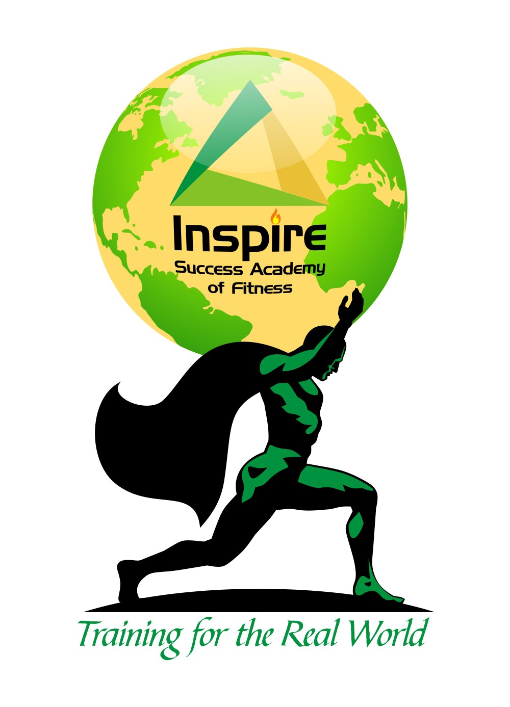 logo for Inspire Success Academy of Fitness