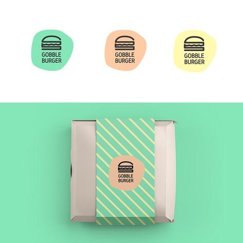 Gobble Burger Logo