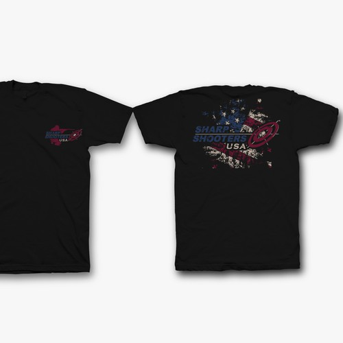 SharpShooters USA member t-shirt