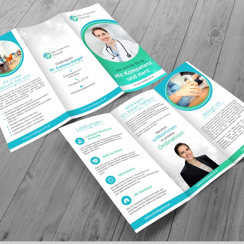 Create a flyer for a private practice (internal medicine)