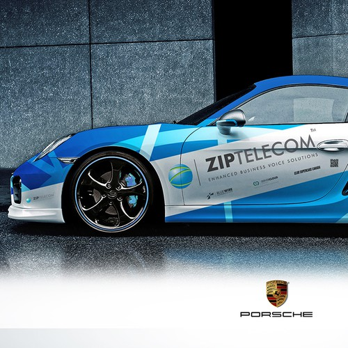 Porsche Full Body Wrap