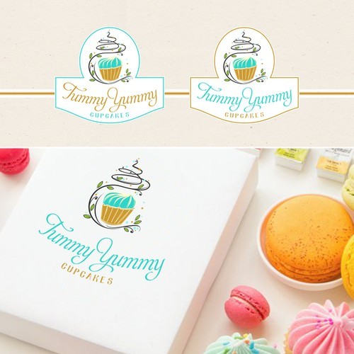 Logo concept for amazing cupcakes!