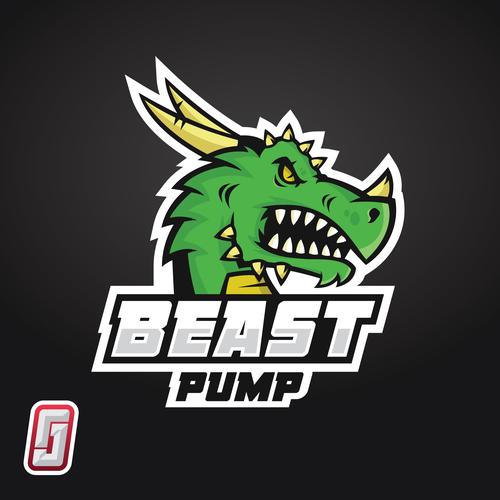 BeastPump logo design