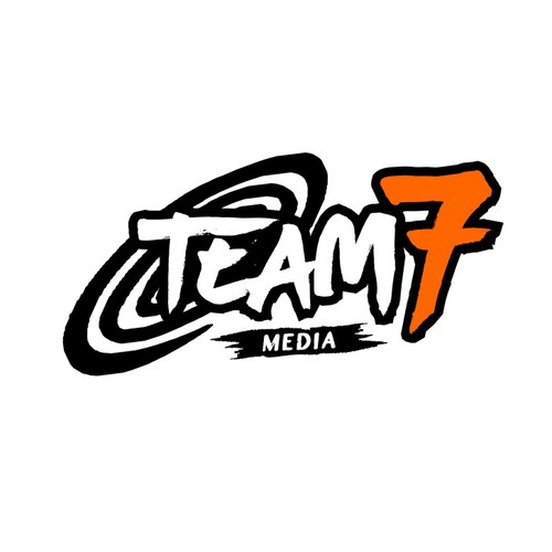 Naruto themed TEAM 7 Logo for Advertising Company